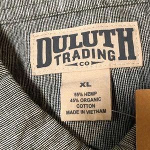 Duluth MENS XL HEMP ORGANIC COTTON NWT